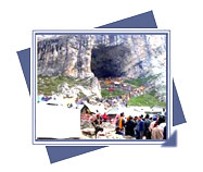 Amarnath, Amarnath tours, Visit Amarnath of Jammu Kashmir, Temple tour of Amarnath, Religious place of Jammu Kashmir