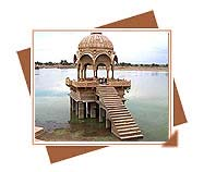 Gadsisar Lake, Gadsisar Lake tours, Visit Gadsisar Lake of Rajasthan, Travel to Gadsisar Lake, Beaches and Lakes