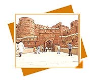 Agra Fort, Agra Fort travel, Agra Fort tourism, Agra Fort Historical Place, travel to Agra Fort Monument